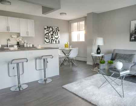 The Lancaster House: Modern apartments for rent in downtown Edmonton